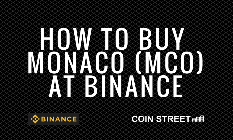 how to buy mco at binance